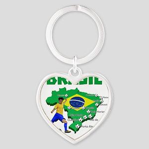 Brasil Futebol 2014 Keychains