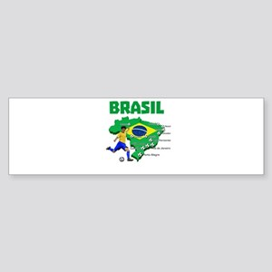Brasil Futebol 2014 Bumper Sticker