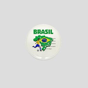 Brasil Futebol 2014 Mini Button