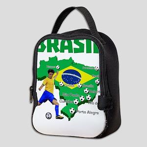 Brasil Futebol 2014 Neoprene Lunch Bag
