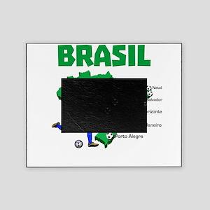 Brasil Futebol 2014 Picture Frame