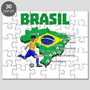 Brasil Futebol 2014 Puzzle