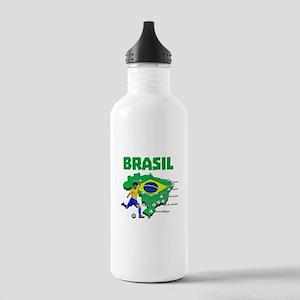 Brasil Futebol 2014 Water Bottle
