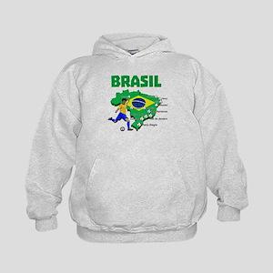 Brasil Futebol 2014 Hoodie