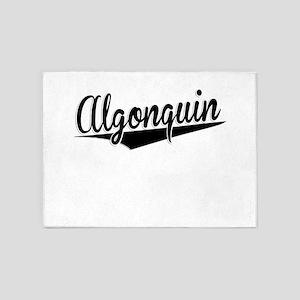 Algonquin, Retro, 5'x7'Area Rug