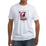 USS COLAHAN Fitted T-Shirt