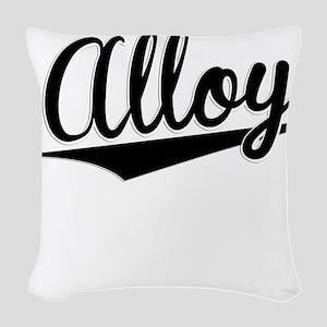Alloy, Retro, Woven Throw Pillow