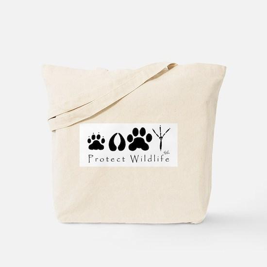 pawprints.jpg Tote Bag
