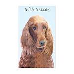 Irish Setter Sticker (Rectangle 10 pk)