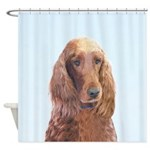 Irish Setter Shower Curtain