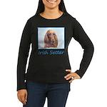 Irish Setter Women's Long Sleeve Dark T-Shirt