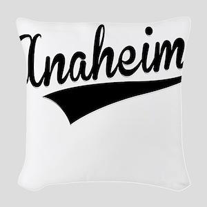 Anaheim, Retro, Woven Throw Pillow