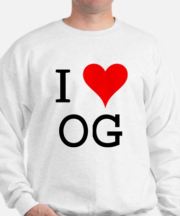 I Love OG Sweatshirt