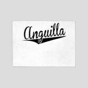Anguilla, Retro, 5'x7'Area Rug