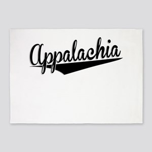 Appalachia, Retro, 5'x7'Area Rug
