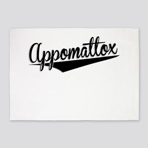 Appomattox, Retro, 5'x7'Area Rug