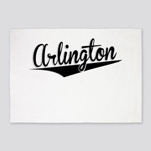 Arlington, Retro, 5'x7'Area Rug