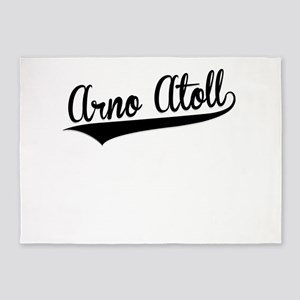 Arno Atoll, Retro, 5'x7'Area Rug