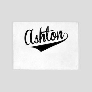 Ashton, Retro, 5'x7'Area Rug
