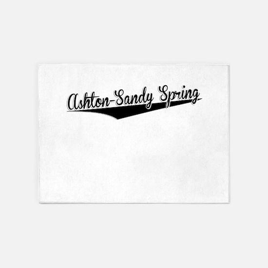 Ashton-Sandy Spring, Retro, 5'x7'Area Rug