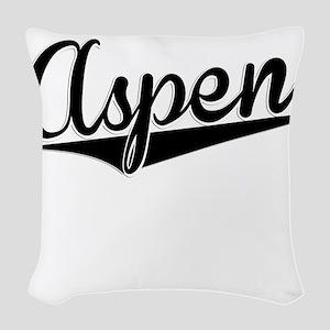 Aspen, Retro, Woven Throw Pillow