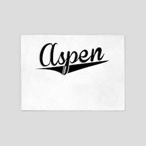 Aspen, Retro, 5'x7'Area Rug