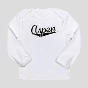 Aspen, Retro, Long Sleeve T-Shirt