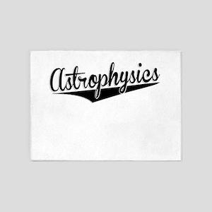 Astrophysics, Retro, 5'x7'Area Rug