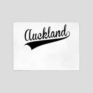 Auckland, Retro, 5'x7'Area Rug