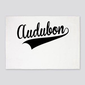 Audubon, Retro, 5'x7'Area Rug