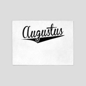 Augustus, Retro, 5'x7'Area Rug
