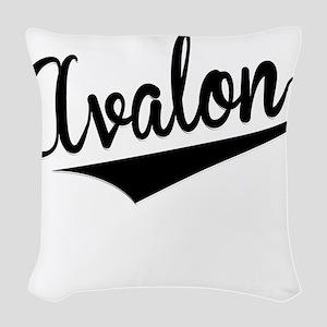 Avalon, Retro, Woven Throw Pillow