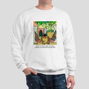 Eat Pizza Delivery Man Sweatshirt