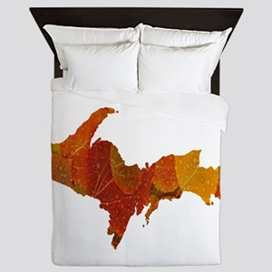 Autumn Leaves U.P. Queen Duvet