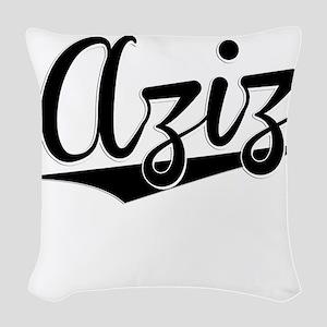 Aziz, Retro, Woven Throw Pillow