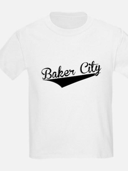 Baker City, Retro, T-Shirt