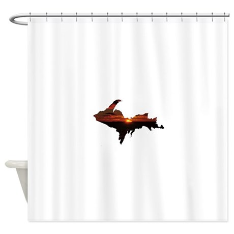 U.P. Sunrise Shower Curtain