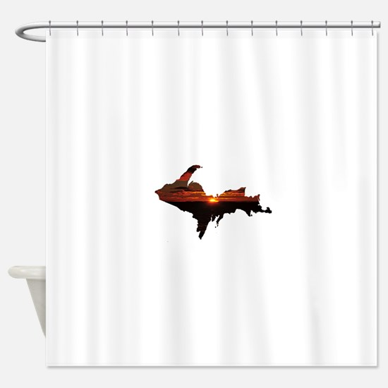 U.P. Sunrise Shower Curtain