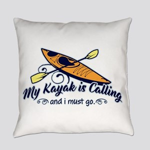 My Kayak Is Calling Everyday Pillow