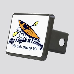 My Kayak Is Calling Rectangular Hitch Cover