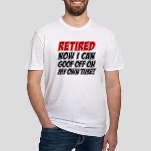 Retired Goof Off Time T-Shirt