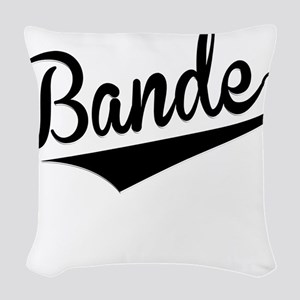 Bande, Retro, Woven Throw Pillow