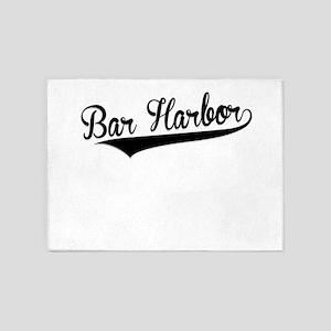 Bar Harbor, Retro, 5'x7'Area Rug
