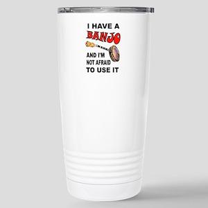BANJO PLAYER Travel Mug