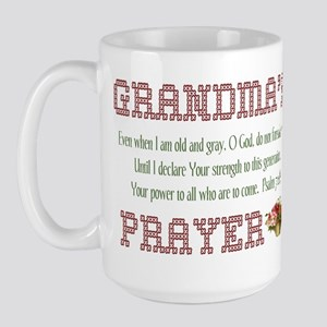 Grandma's Prayer Large Mug