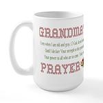 Grandma's Prayer Large Mug
