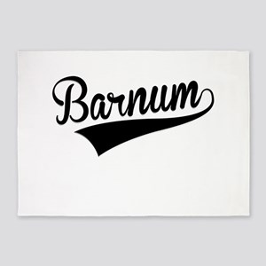 Barnum, Retro, 5'x7'Area Rug