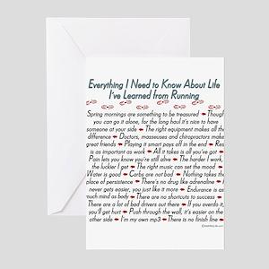 ektkalrunning copy Greeting Cards