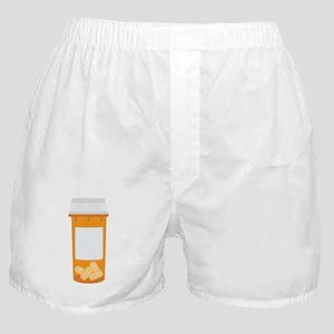 Medicine Pill Bottle Boxer Shorts