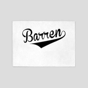 Barren, Retro, 5'x7'Area Rug